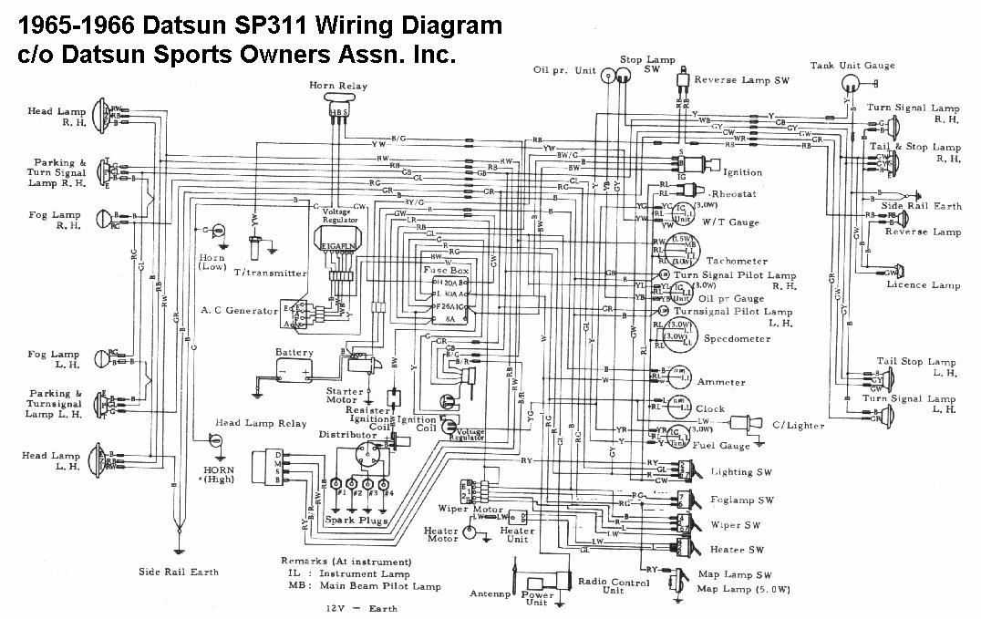 sp31165wiring datsun sports technical data for technical information about the datsun 720 wiring diagram at n-0.co