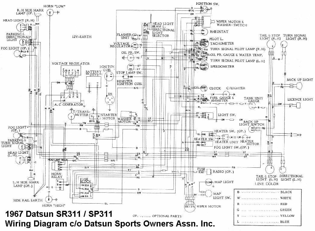 datsun 521 wiring diagram