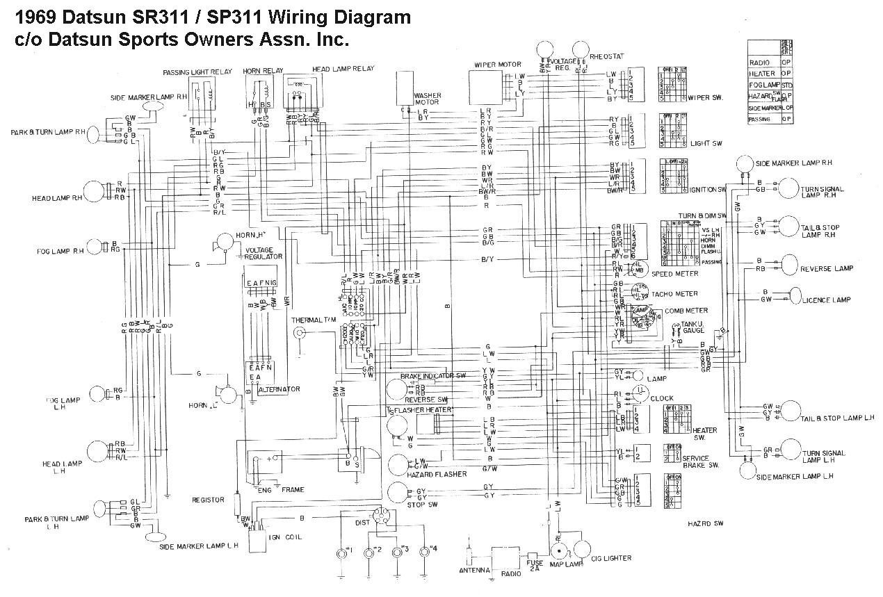 Nissan 1400 Electrical Wiring Diagram : Nissan champ wiring diagram